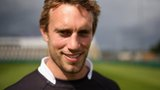 Newcastle Falcons' scrum-half Mike Blair
