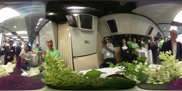 360 degree shot from Berlin IFA