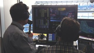 5 live commentary box at Monza