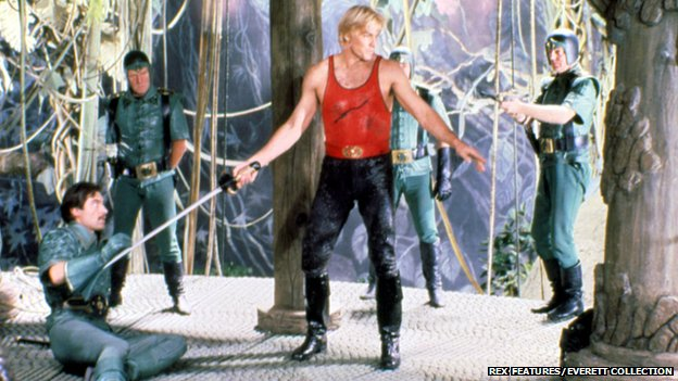 Sam J Jones in Flash Gordon