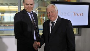 Mark Thompson and Lord Patten (May 2011)