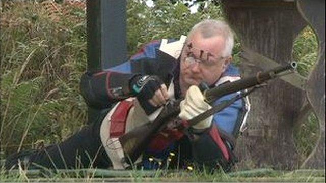 Jersey shooter Gareth Callan
