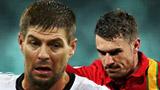 Steven Gerrard, Aaron Ramsey