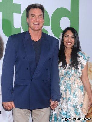 Sam J Jones and wife Ramona Jones