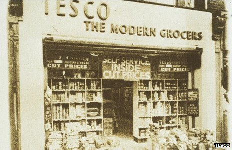 The first Tesco store