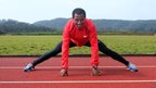 Ethiopian athletics star Kenenisa Bekele trains at a camp outside Ethiopia's capital Addis Ababa - Sunday 1 September 2013
