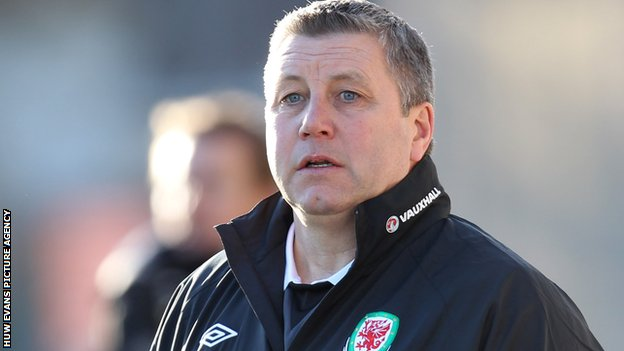 Wales U21 manager Geraint Willliams