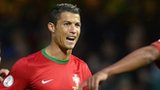 Ronaldo celebrates Portugal's opener