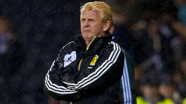 Scotland manger Gordon Strachan