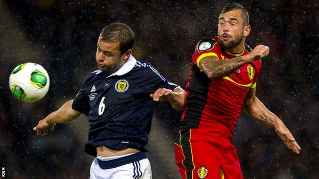 Shaun Maloney and Steven Defour