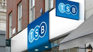Artist's impression of a new TSB branch