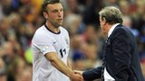Roy Hodgson and Rickie Lambert