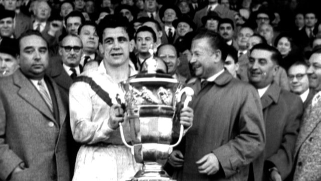 Great Britain win 1954 Rugby League World Cup