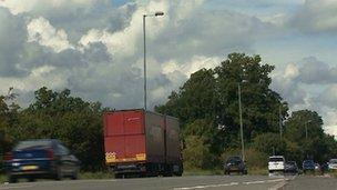 A466 near Chepstow