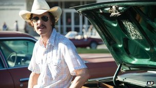 Matthew McConaughey in a scene from Dallas Buyers Club