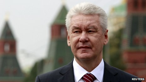 Sergei Sobyanin at the Kremlin, Moscow, 29 August