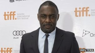 Idris Elba in Toronto (7 Sept 2013)