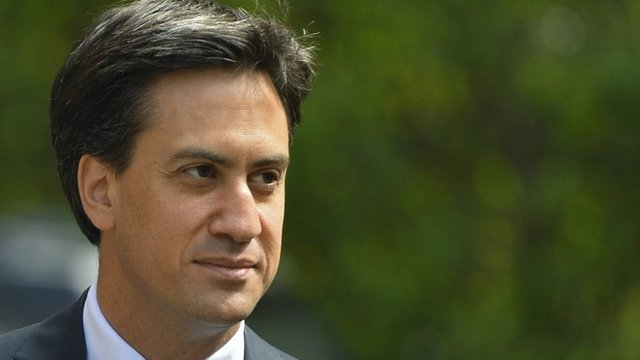 File picture of Ed Miliband