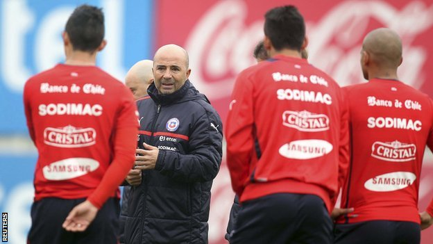 Chile coach Jorge Sampaoli
