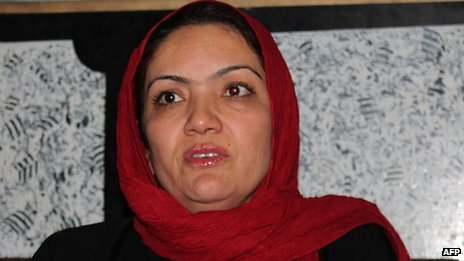 Fariba Ahmadi Kakar in June 2013