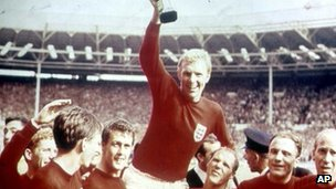 England winning the 1966 World Cup