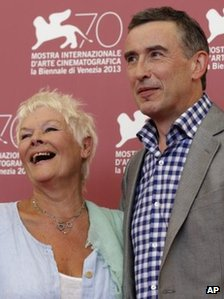 Dame Judi Dench and Steve Coogan