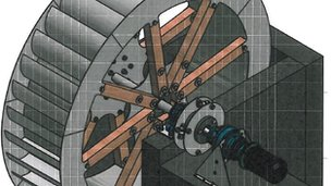 New water wheel design