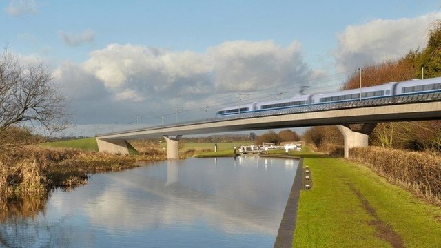 Image of HS2 Birmingham and Fazeley viaduct
