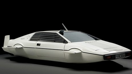 James Bond's submarine Lotus Esprit