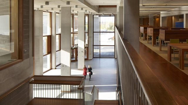Interior of University of Limerick Medical School