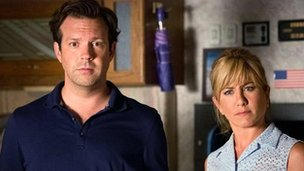 Jason Sudekis and Jennifer Aniston in We're The Millers