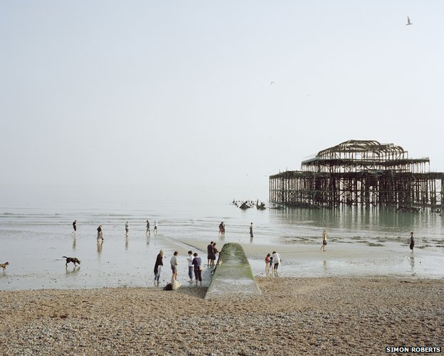 Brighton West Pier, East Sussex, April 2011 (Lost Pier)