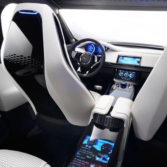 In Pictures: Jaguar C-X17 Concept Car