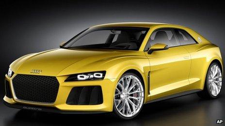 Audi Sport Quattro hybrid