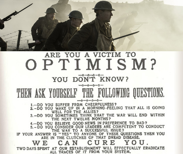 Are you a victim of optimism? The Wipers Times
