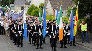 Castlederg parade