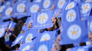 Fans at King Power Stadium