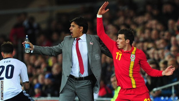 Chris Coleman and Gareth Bale