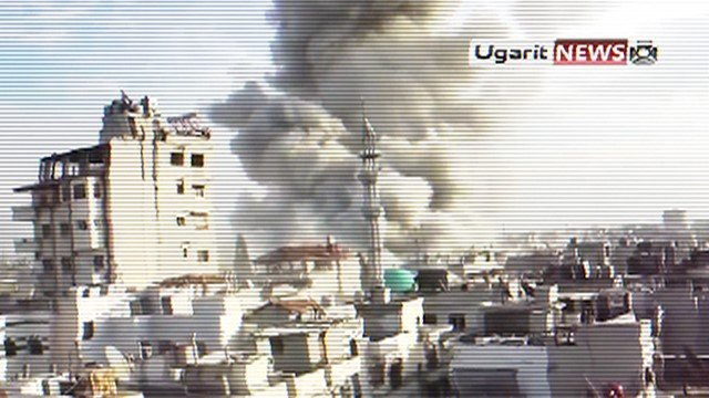 User generated footage from Syria
