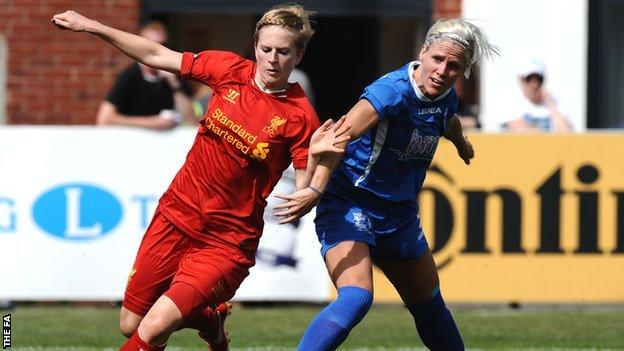 Liverpool's Natasha Dowie