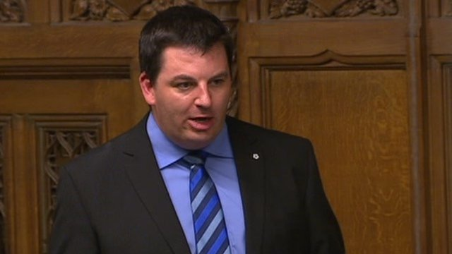 Conservative MP Andrew Percy