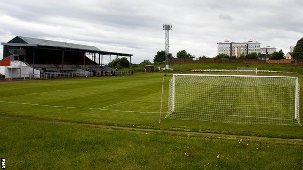 Albion Rovers' Cliftonhill Stadium