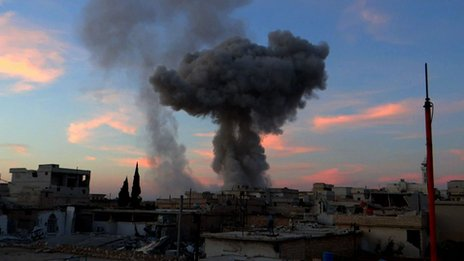 Air strike on Taftanaz
