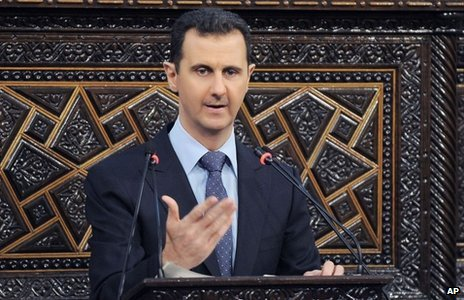 Bashar al-Assad addresses parliament (3 June 2012)