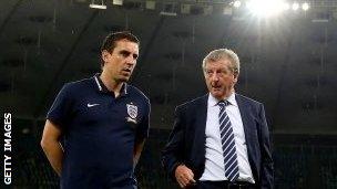 Gary Neville & Roy Hodgson
