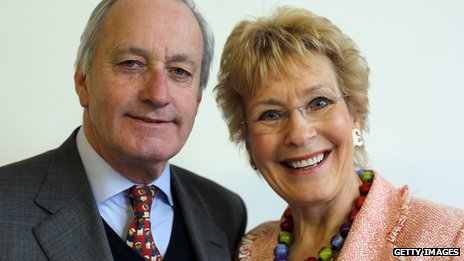 Neil and Christine Hamilton