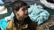 Boy in chemical weapon attack