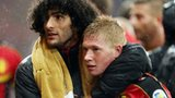 Marouane Fellaini and Kevin De Bruyne