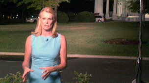 The BBC's Katty Kay at the White House (10 September 2013)