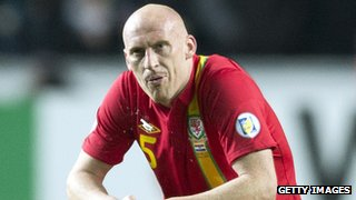 Wales defender James Collins